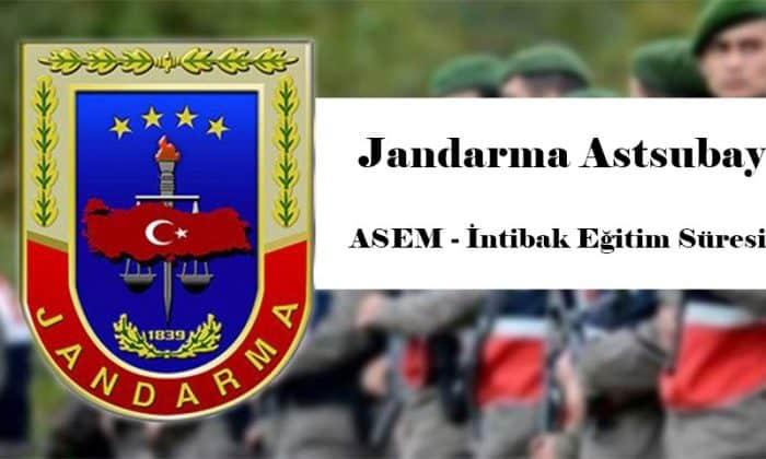 Jandarma Astsubay intibak Süreci