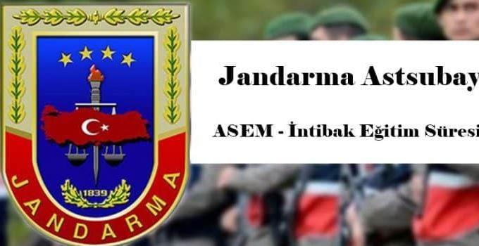 Jandarma Astsubay İntibak Süresi